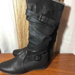 NWT Shen Ling Black Boots Size 6.5